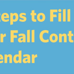 8 Steps to Fill Your Fall Content Calendar image 8 Steps to Fill Your Fall Content Calendar