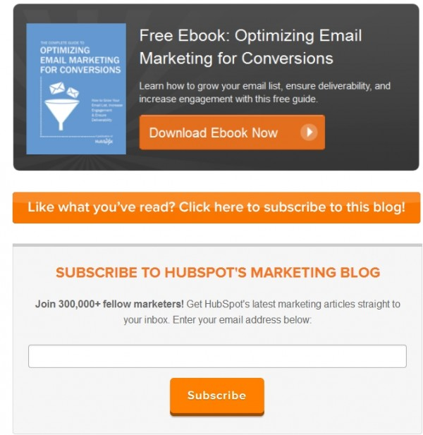 6 Tactics to Boost Your Email Marketing image Hubspot Email e1409426357160