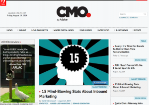 20 Amazing Examples Of Brand Content Marketing Hubs image Screen Shot 2014 08 29 at 2.56.45 PM