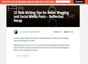 20 Amazing Examples Of Brand Content Marketing Hubs image Screen Shot 2014 08 29 at 3.40.57 PM