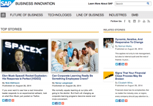 20 Amazing Examples Of Brand Content Marketing Hubs image Screen Shot 2014 08 29 at 4.05.57 PM
