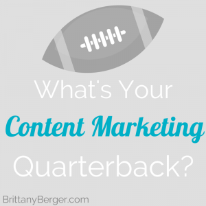 Your Content Marketing Quarterback image content marketing quarterback