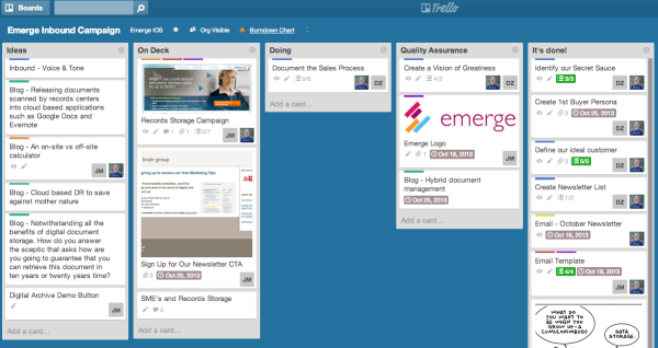 9 Steps to a Successful WebSite Redesign image Inbound Campaign  Trello 600x318