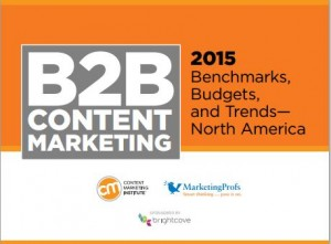 Content Marketing . . . It's Not Getting Any Better image cmi study 2015