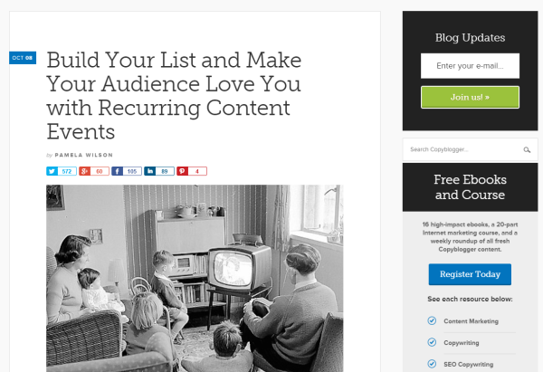 5 Epic Content Marketing Tips From Joe Pulizzi image content marketing tips copyblogger.png 600x411