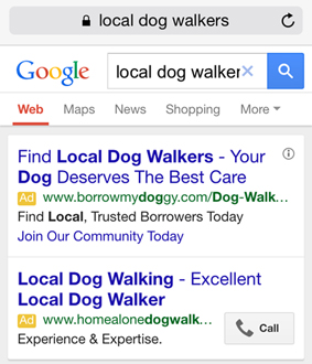 5 Statistics That Will Change Your Mind About PPC Call Tracking image local dog walker