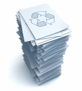 Do Republished Press Releases Have Any Value? image recycle paper 270x300.jpg