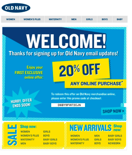 7 Reasons Your Business Needs an Automated Welcome Email image sale1.png