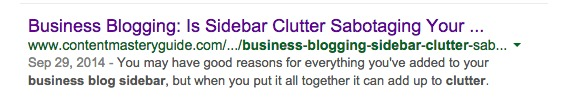 How To Customize Your Blog Post Excerpt To Attract More Readers image Google SERP keywords bold.jpg