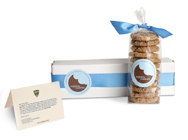 7 Customer Appreciation Ideas For Your Small Business image Mercedes Benz ty cookies and note1.jpg