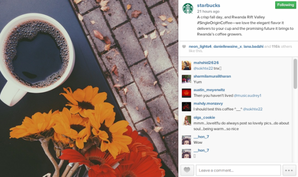 Do You Need A Separate Visual Tone For Your Brand Online? image Sbux 1.png 600x356