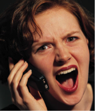 Sales Thinks Your Leads Stink (Part 2): We Need More Leads. You Can Fix That! image Screaming on Phone.png