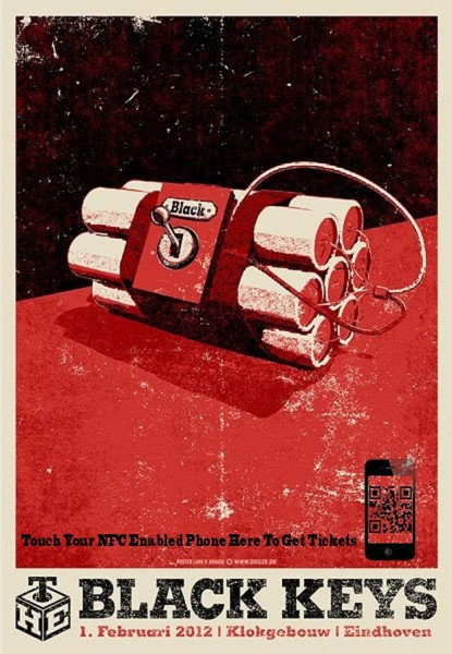 How To Optimize Mobile Pages To Drive Phone Leads image The Black Keys concert posters 61 copy.jpg 415x600