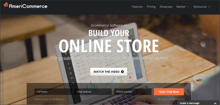 16 Online Shopping Cart Solutions For Small Businesses image americommerce 1024x491.png 900x431