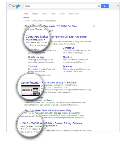 4 Ways to Dominate Search Results and Drive Sales image brand on google.jpg 534x600