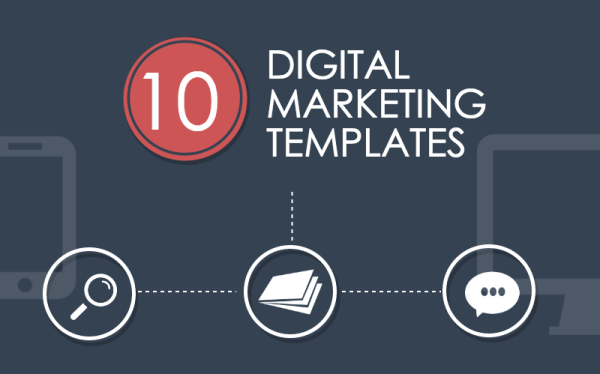 10 Digital Marketing Templates for Lightning Fast Execution image digitalmarketingtemplates.png 600x374