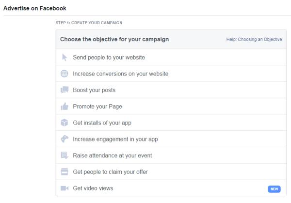 Facebook Marketing Video Tip image facebook video ad   get video views 600x419.png