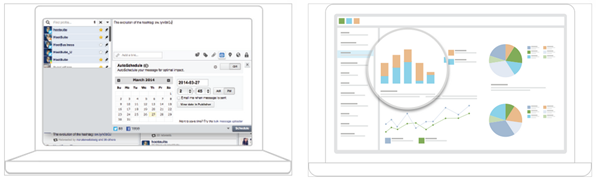 Overview of the 3 Great Social Media Management Tools image hootsuite