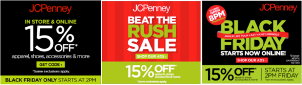5 Tips for Tackling Marketing's Busiest Time of the Year image jc penney 600x169