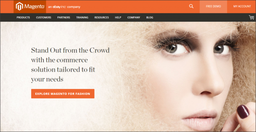 16 Online Shopping Cart Solutions For Small Businesses image magento 1024x529.png 900x464