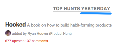 Why Product Hunt's Emails Are So Addictive image product hunt email 2.png