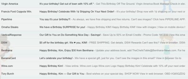 Effective Birthday Emails That Light Up Our Inboxes image screen shot 2014 10 01 at 3.30.01 pm.jpg 600x253