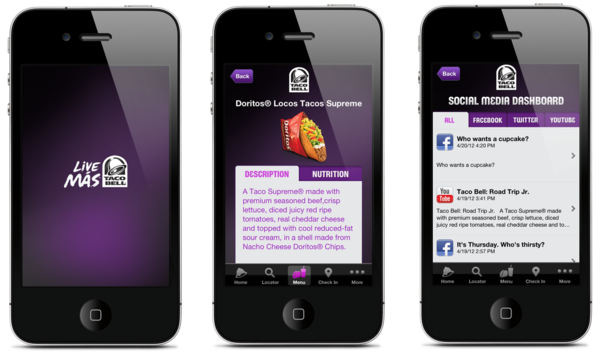 Anti Social Media: Building Brand Awareness Without Being Social image taco bell app