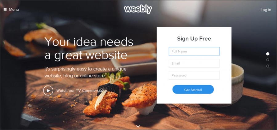 16 Online Shopping Cart Solutions For Small Businesses image weebly 1024x483.png 900x424