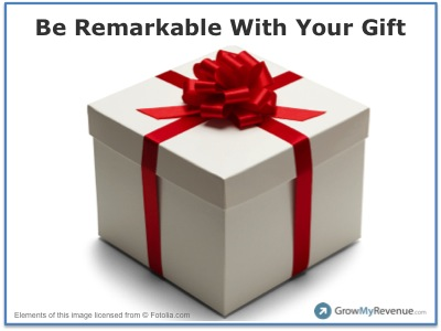 Is Your Business Gift Idea Destined For Greatness or Disaster? image 11252014 Gift.jpg
