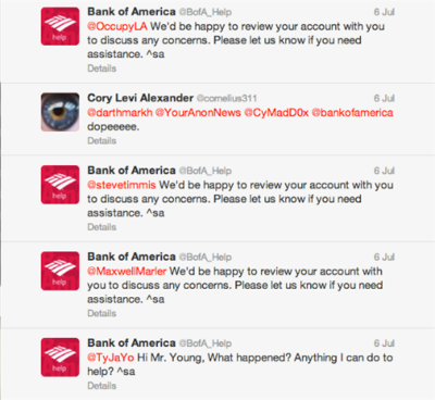 Worst Practices For Social Media Customer Service image BofA1.png