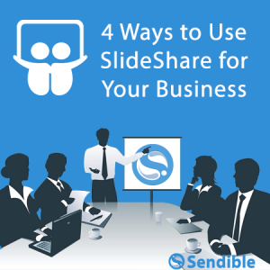 4 Ways to Use SlideShare for Your Business image Feature SlideShare Presentation1 300x300.png