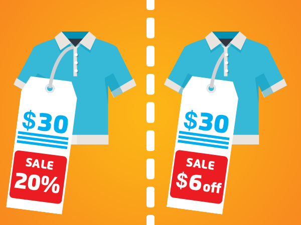 What Works Best   Percentage Deal or Money Off Offer? image Percentage or money off2 USA