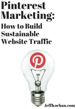 Pinterest Marketing: How To Build Sustainable Website Traffic image Pinterest Marketing How to Build Traffic 244x350.png