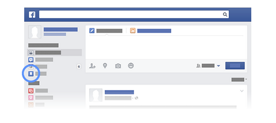 Social Media Quick Tips: Using The Facebook Save Feature image What you saved on Facebook.png