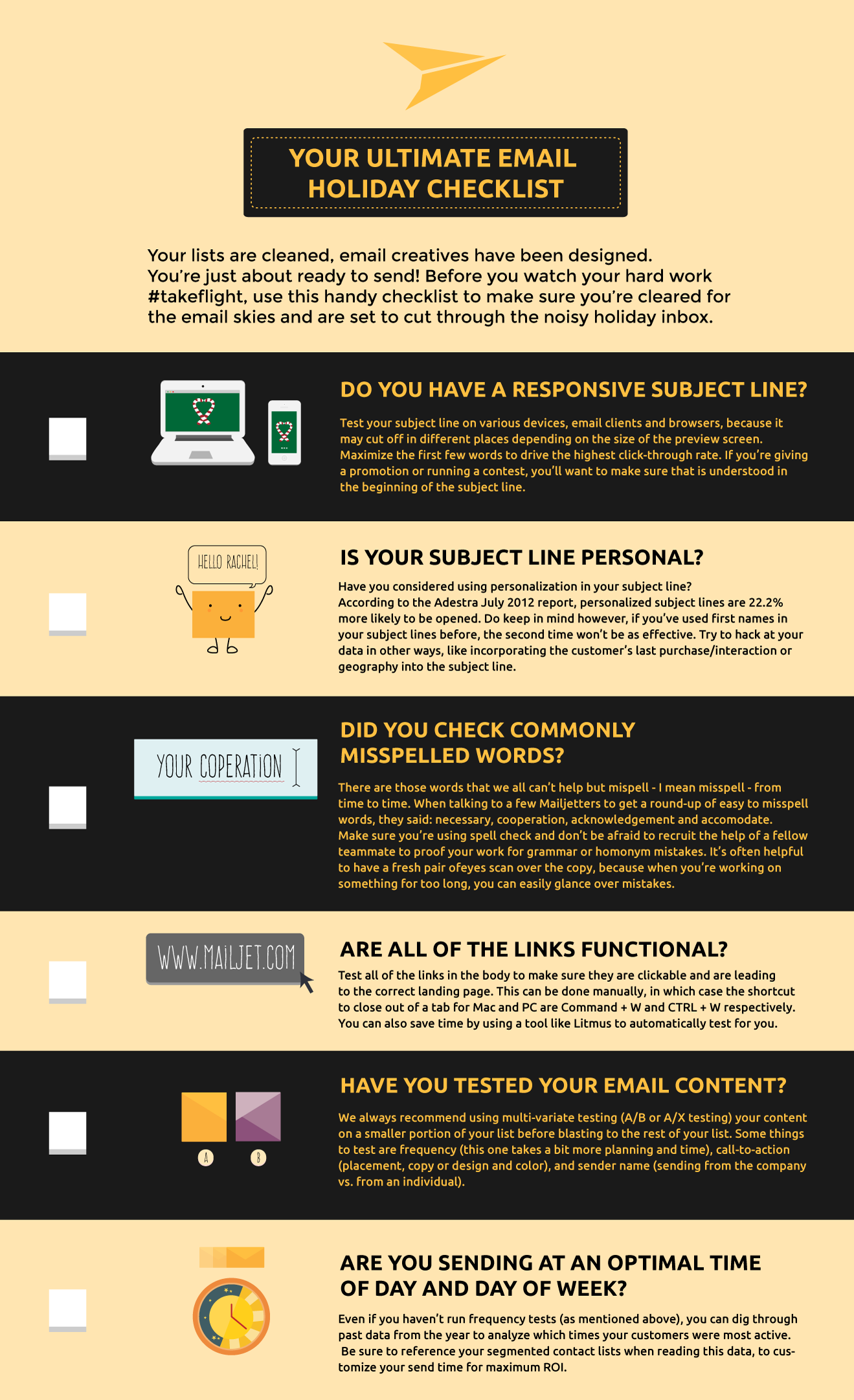 Your Ultimate Holiday Email Sending Checklist [Infographic] image blog post roll 1