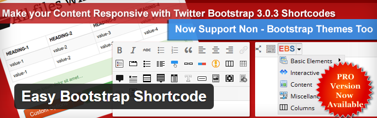 Make Your Life Easier With These 5 Shortcode WordPress Plugins image easy bootstrap shortcode.png