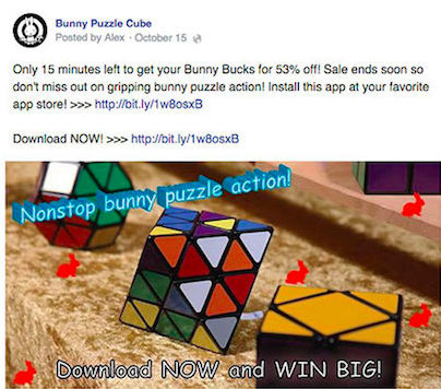 What Facebook's Crackdown On 'Overly Promotional' Page Posts Means For Your Business image example2.png