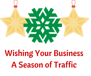 Holiday SEO Checklist – 4 Steps to Make the Most out of Seasonal Traffic image holiday business traffic1 300x251.png