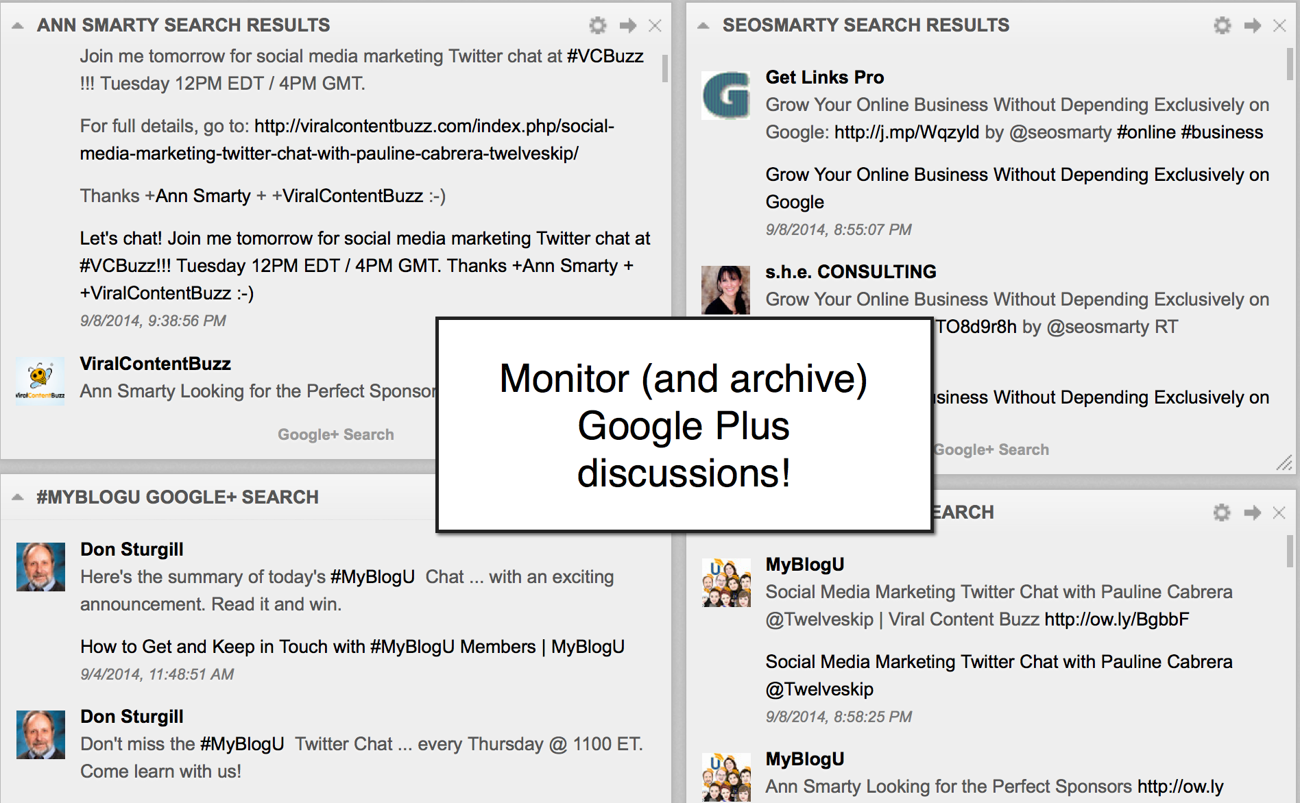 5 Dashboards to Monitor Your Brand Mentions: Be Everywhere image reputation management cyfe