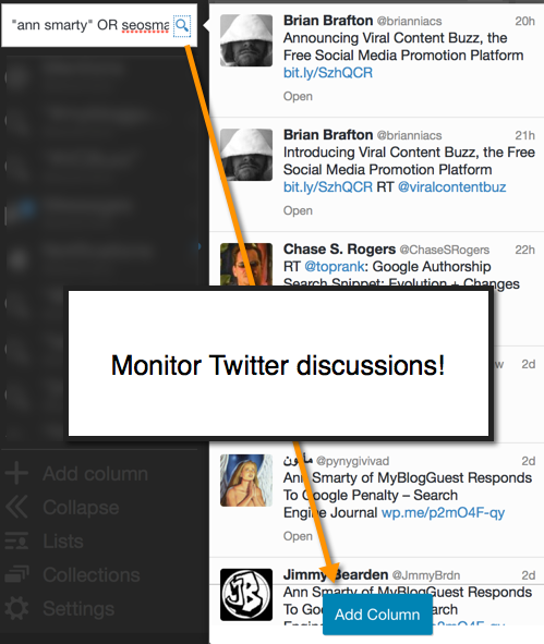5 Dashboards to Monitor Your Brand Mentions: Be Everywhere image reputation management tweetdeck
