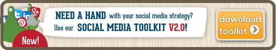 Need a Hand with your social strategy? Try using our Social Media Toolkit!