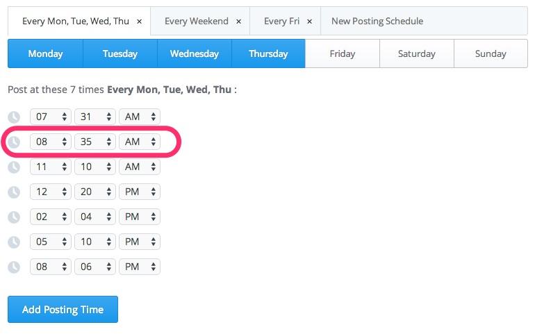 Decisive Buffer Schedule