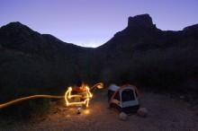 Camping at Big Bend