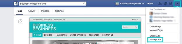 Facebook social media startup