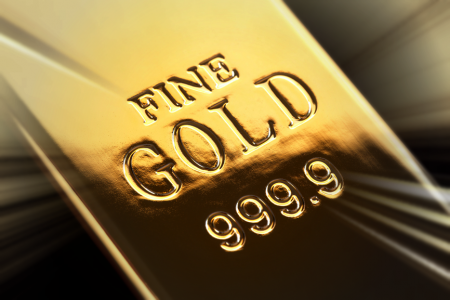 Gold ingot representing Value Statement