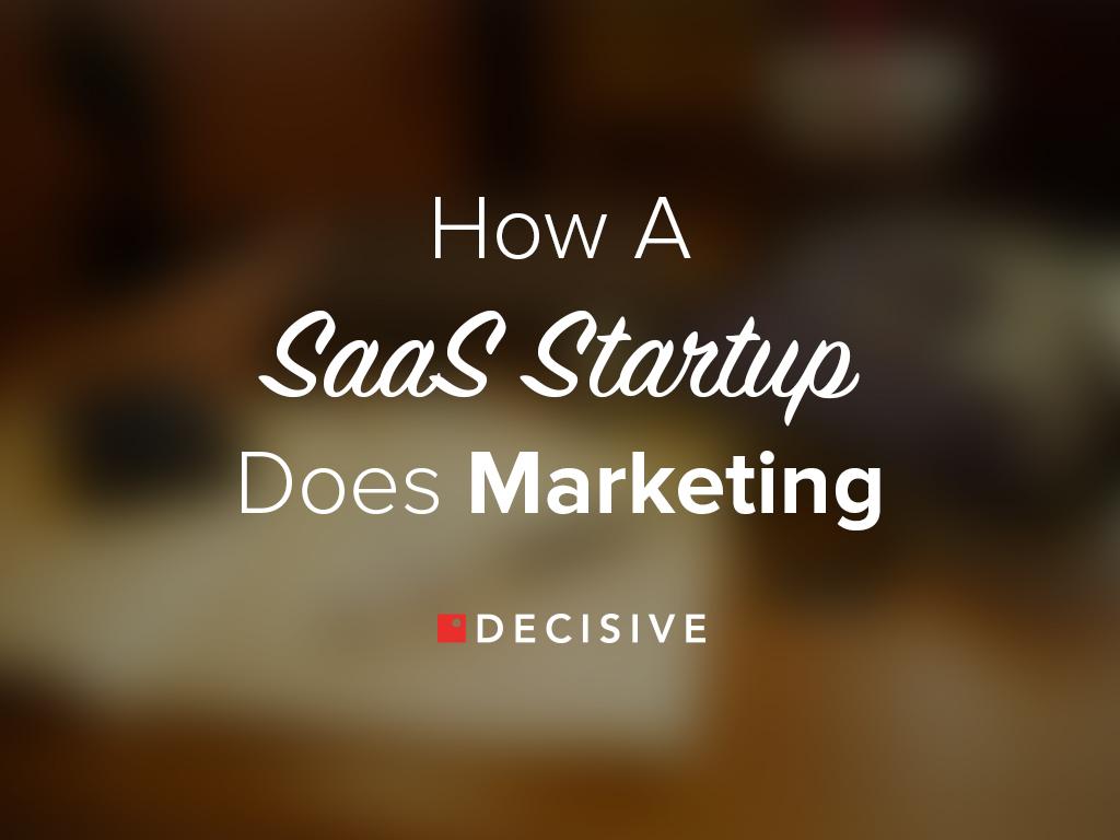 SaaS Startup Marketing