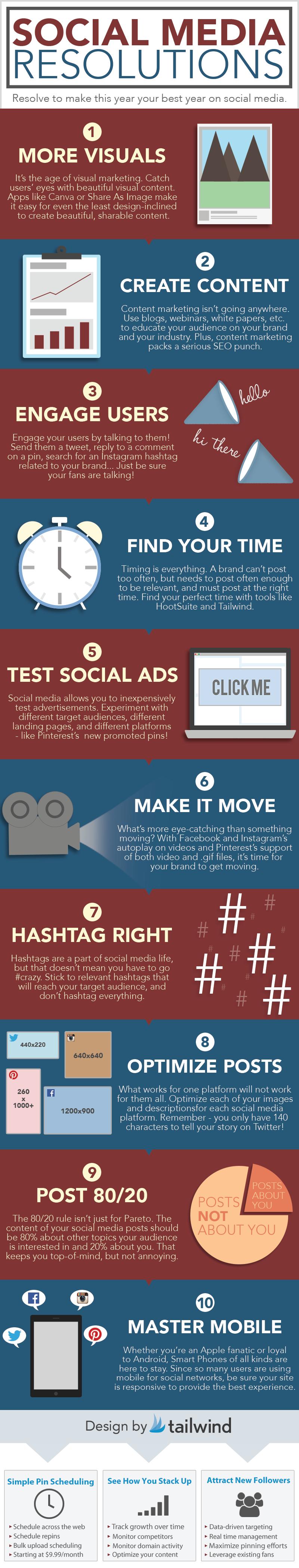 Social Media New Year's Resolutions [Infographic] image Social Media Resolution.png