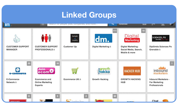 linkedin groups to ask for feedback