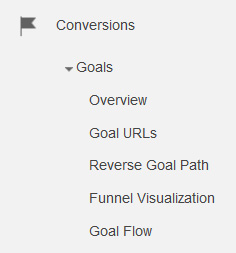 Introduction to using Goals in Google Analytics   conversions