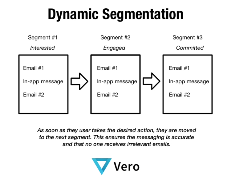 dynamic segmentation vero